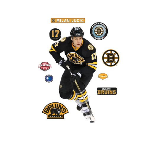 NHL Milan Lucic Boston Bruins Wall Decal Fathead Wall Stickers & Murals autotags B0035HEEDO