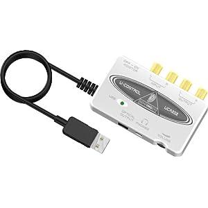 ベリンガー UCA202 接続簡単オーディオインターフェース