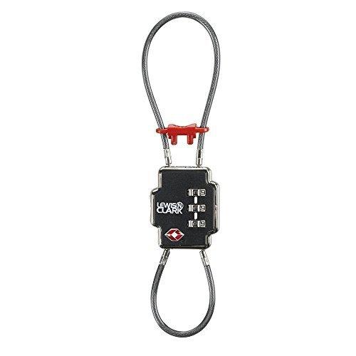 lewis-n-clark-double-cable-lock-black-by-lewis-n-clark