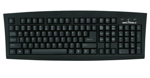 SILVER SEAL MEDICAL GRADE KEYBOARD - DISHWASHER SAFE & ANTIMICROBIAL - ITALIAN (
