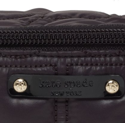 NEW AUTHENTIC KATE SPADE CHAMONIX SMALL CARA COSMETIC CASE (Black)