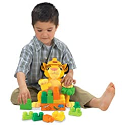 Build with Simba The Lion King