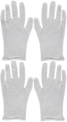 Eurow Cotton Cosmetic Moisturizing Gloves White - 2 Pack