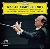 "Mahler Symphony No. 2 ""Resurrection"" / Kaplan, Wiener Philharmoniker (Multichannel Hybrid SACD) cover image"