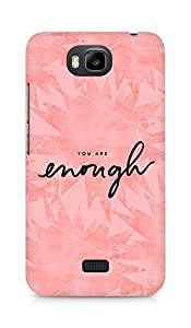 AMEZ you are enough Back Cover For Huawei Honor Bee