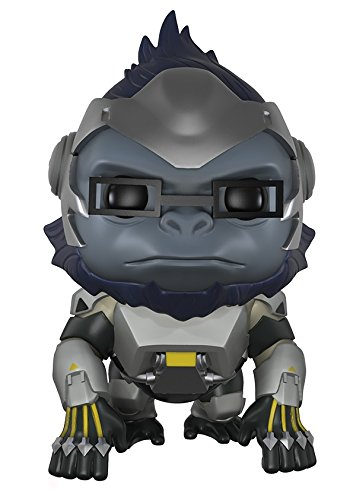Funko Pop! Games: Overwatch Action Figure - Winston, 6