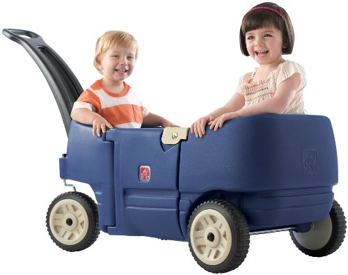 Why Should You Buy Step2 Wagon for Two Plus Blue
