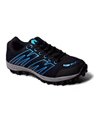 More Mile Cheviot 2 Black/Blue Mens Trail Running Shoes