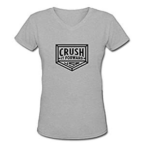 Tamara Women's Crush Grey Cotton T-Shirt