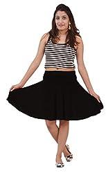 Ace short Skirt-Black