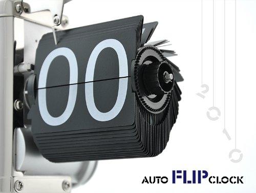 Amazon.com - Niceeshop Retro Flip Down Clock - Internal Gear Operated - Desk Clocks
