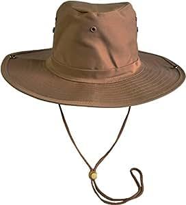 Original Australian Outdoor Hut Buschhut in vielen Farben und Grössen Farbe Coyote Größe 55