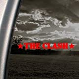 The Clash Red Decal Punk Band Car Truck Window Red Sticker
