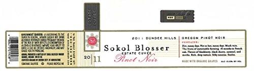 2011 Sokol Blosser Estate Cuvée Of Pinot Noir 750 Ml