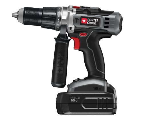 PORTER-CABLE PC180HDK-2 18-Volt Cordless NiCd Hammer Drill