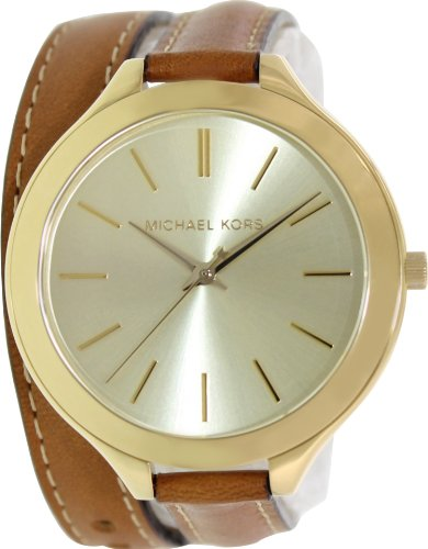 Michael Kors Women's MK2256 Runway Brown Watch