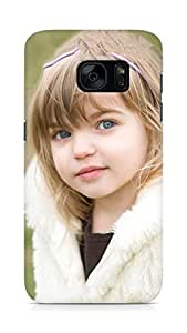 Amez designer printed 3d premium high quality back case cover for Samsung Galaxy S7 (Cute Baby 2)