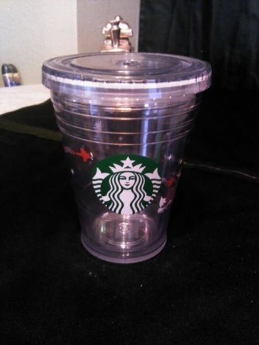 Starbucks Holiday Cold Cup, 12Oz