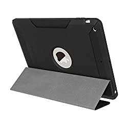 Seidio DILEX Case with Flip Cover for Use with Apple iPad Air (BD2-CKFIPDA-BK)