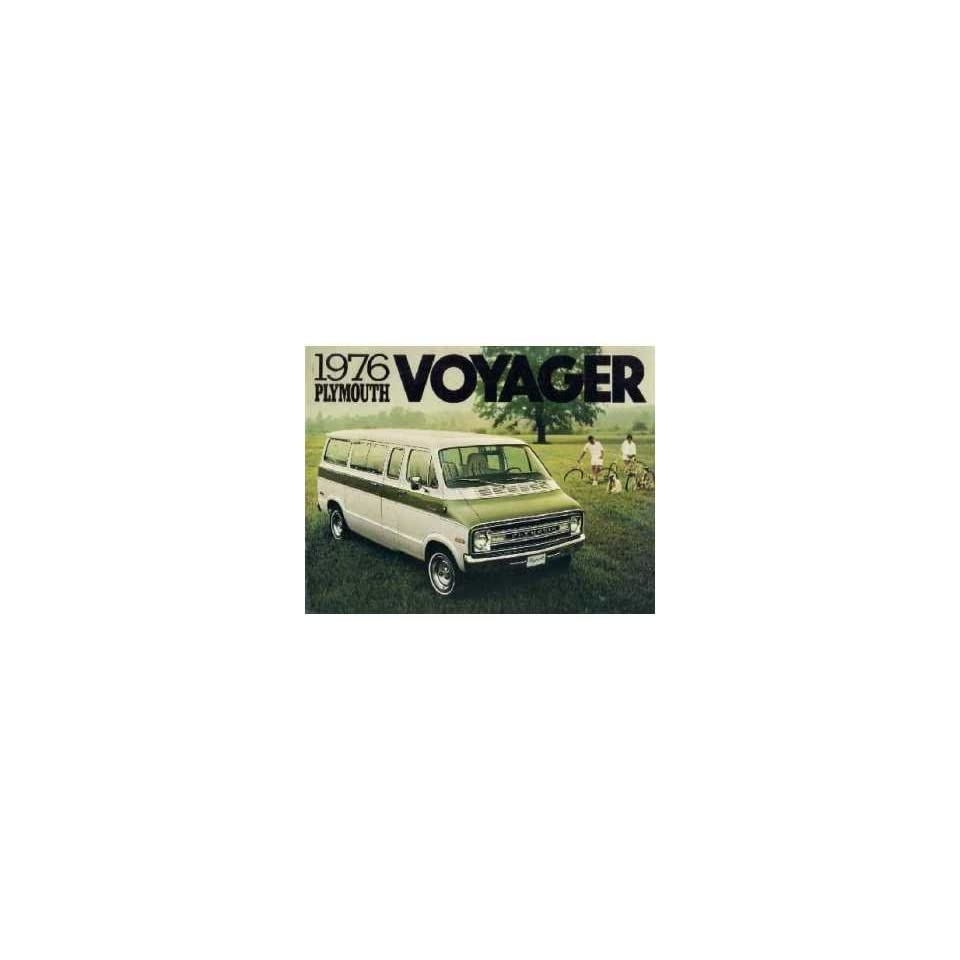 1976 Plymouth Voyager Sales Brochure Literature Book Advertisement Specification