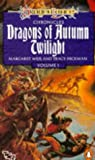 Dragonlance Chronicles: Dragons Of Autumn Twilight (0140087184) by Margaret Weis and Tracy Hickman and Michael Williams