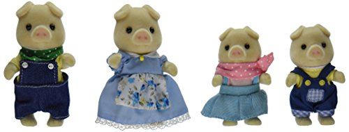 Calico Critters Oinks Pig Family (Corn Brothers Collection compare prices)