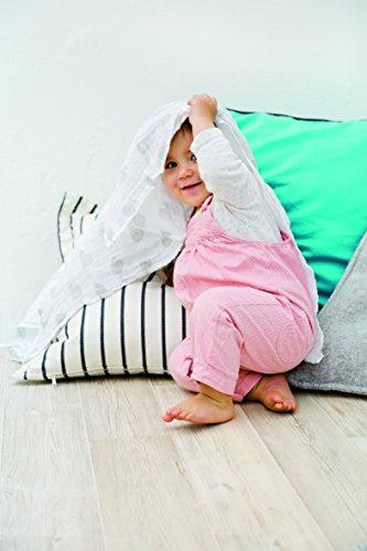 Lässig LMCVPS082 Sweet Dreams Girls - Trapos para bebé (3 unidades, 85 x 85 cm)