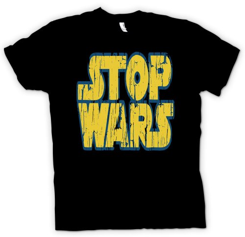 Stop Wars (star wars) - Conspiracy - Funny T Shirt