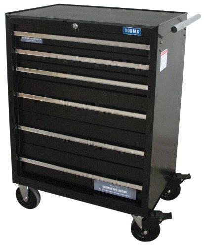 Kodiak Pro 74206 26-Inch 6 Drawer Rolling Tool Cabinet