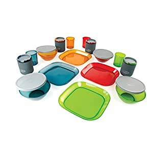 GSI Outdoors Infinity 4 person Multicolor Deluxe Tableset