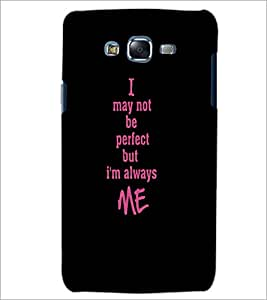 PrintDhaba Quote D-4414 Back Case Cover for SAMSUNG GALAXY J5 (Multi-Coloured)