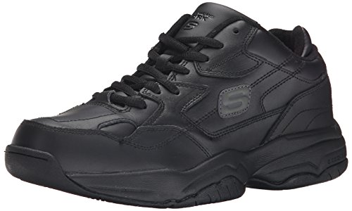 Skechers for Work Men's Keystone Sneaker,Black,11 M US