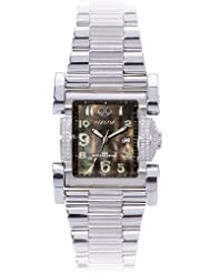 REACTOR Men's 82001 Ion Diamond Black Pearl Stainless Steel Limited Edition Watch