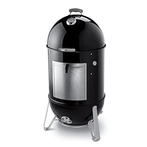 Weber 731001 Smokey Mountain Cooker 22-Inch Charcoal Smoker, Black (22 Inch Weber Grill compare prices)