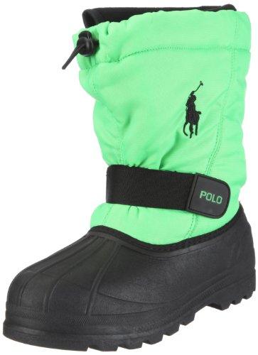 Polo Ralph Lauren Whistler (GS) Boys Snow Boots 95284-GS Neon Green 6 M US