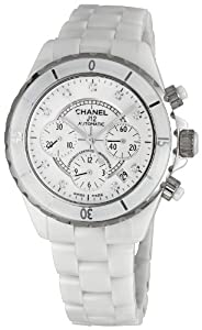 Chanel Men's H2009 Chanel J12 Sport White Dial Watch from Chanel