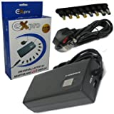 Ex-Pro 90w LCD Universal Laptop Notebook power supply AC adapter, LCD AUTOMATIC voltage selection - worldwide use. Replaces Sony VAIO PCGA-AC19V11 19V 4.74A