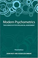 Modern Psychometrics, Third Edition: The Science of Psychological Assessment: 3
