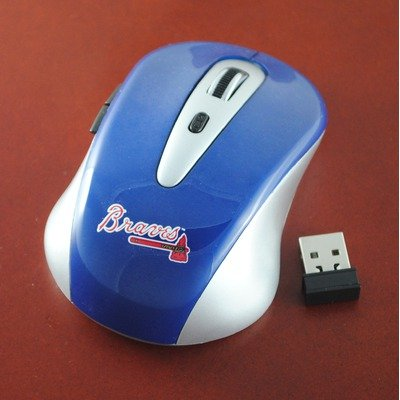 MLB Atlanta Braves Wireless Mouse