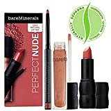 Bare Escentuals Perfect Nude 100% Natural Lip Trio ($41 Value) Perfect Nude 100% Natural Lip Trio