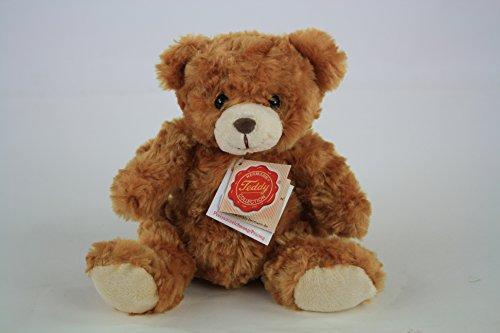 Hermann Teddy, Teddybär, 20 cm, gold, Plüschteddy,