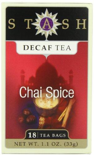 Stash Tea Company Decaf Chai Spice Tea, 18 Count Tea Bags