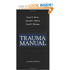 Trauma Manual 4th Edition PDF by Ernest Moore