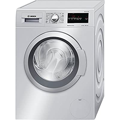 Bosch WAT24168IN Fully-automatic Front-loading Washing Machine (7.5 Kg, Silver)