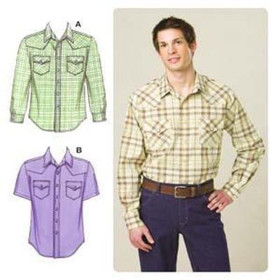 Western Sewing Patterns Kwik Sew Men's Western-style