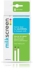 Milkscreen: Home Test to Detect Alcohol in Breast Milk 8 Pack