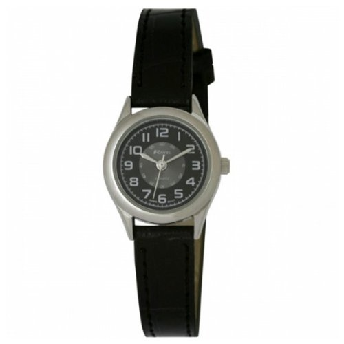 Ladies Classic Minute Track Black Watch With