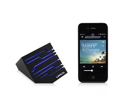 Lavolta SM-201 Bluetooth Sans Fil Enceinte Haut-parleur pour PC Ordinateur Portable Lecteur MP3 Player Walkman Android Mobile Téléphone Tablet - Noir