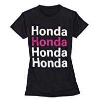 Officially Licensed Honda Ladies Glitter Tee - Size Large