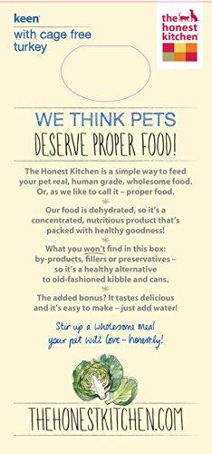 The Honest Kitchen Keen: Turkey & Whole Grain Dog Food, 10 lb_Image1